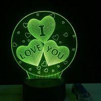 Ночник «Я люблю тебя»