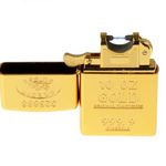 Зажигалка Gold с USB зарядкой